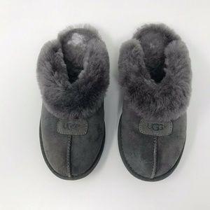 13e21f88640 UGG Womens Coquette Clog Slippers Sheepskin Fleece